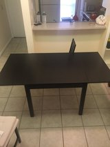 Extendable IKEA table in Tampa, Florida