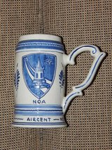 Delft Blue Dutch Officers Association Beer Stein in Stuttgart, GE