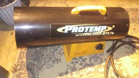 Protemp propane heater-up to 100,000 BTU in Aurora, Illinois