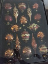 Copper and Gold Ornaments in Lockport, Illinois