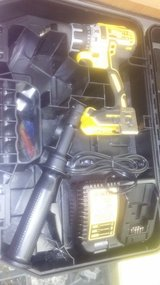 Dewalt Hammer Drill in case with charger and battery in Yucca Valley, California