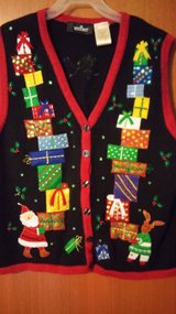 Christmas vest in Houston, Texas