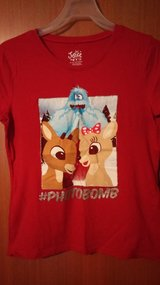 Rudolph t-shirt/Christmas in Houston, Texas