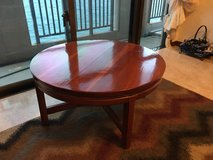 Solid cherry wood coffee table in Okinawa, Japan