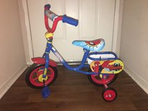 "10"" HUFFY Spider-man bike (New) in Oceanside, California"