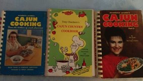 Cajun Cookbook set (3) in Warner Robins, Georgia