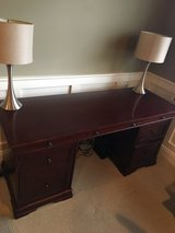 Desk- solid wood! in Glendale Heights, Illinois