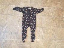 Boys size 18 months New Orleans Saints Footed sleeper in Leesville, Louisiana