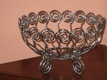 wire fruit basket 10Wx6H in Naperville, Illinois