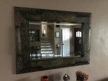Metal framed mirror in Glendale Heights, Illinois