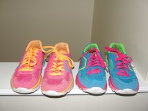"GIRLS ""SKECHERS GO RUN"" TENNIS SHOES 2 PAIR SIZE 4 in Camp Lejeune, North Carolina"