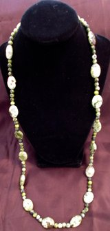 "Turquiose necklace w/Gold filled Clasps 32"" in Las Cruces, New Mexico"