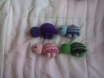 Crochet Turtles in Fort Carson, Colorado