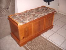 CEDAR chest with storage/Entry Bench in Fort Bliss, Texas