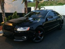 Audi A5 Quattro Murdered Out in Fort Irwin, California