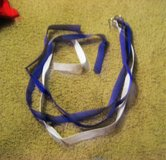2 Purple 1 White Football Belts Adjustable Adult size in Houston, Texas