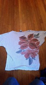 Misses floral top in Fort Drum, New York