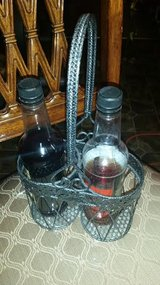 Pier 1 / Iron / Wine Bottle Caddy in Fort Campbell, Kentucky