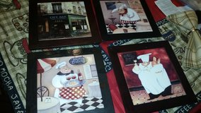 Chef 4 Piece Trivet Set in Fort Campbell, Kentucky