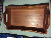 Old wooden serving tray 21 1/2 by 12 1/4 in Camp Lejeune, North Carolina