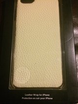 IPhone 6 Plus Cream Leather Case in Chicago, Illinois