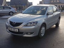 2005 MAZDA 3 TURBO DIESEL ONLY 54000 MILS *2 YEARS NEW INSPC. in Spangdahlem, Germany