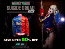 Suicide Squad Margot Robbie Harley Quinn Jacket in Algonquin, Illinois