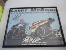 Larry McBride aka 'Spiderman' Framed Poster--SIGNED in Warner Robins, Georgia