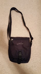 Eddie Bauer Black Nylon tech bag purse in Naperville, Illinois