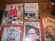 Vtg TIME and LIFE Magazines in Byron, Georgia