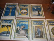 1920s, 7 The MENTOR Magazines in Byron, Georgia