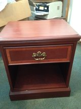 Mahogany End Table or Night Stand in Fort Benning, Georgia