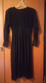Gothic black dress in Spring, Texas