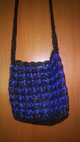 Plarn upcycled crossbody purse in Spring, Texas