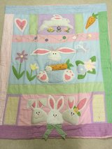 """Bunny Blanket excellent used condtion approx. 48"""" x 58"""" in Chicago, Illinois"""
