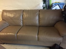 Leather Couch Set $500 in Vacaville, California