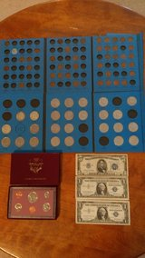 Coin collection in Perry, Georgia