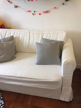 Selling Gorgeous IKEA Sofa Bed in Off White. in Okinawa, Japan