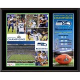 "SEATTLE SEAHAWKS XLVIII Commemoritive 12""x 15"" Plaque - NEW in Tacoma, Washington"