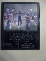 *** SEATTLE SEAHAWKS Super Bowl XLVIII Champs plaque - NEW *** in Tacoma, Washington