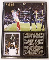 *** Richard Sherman #25 Seattle Seahawks NFC Championship Jan 19, 2014 Photo Plaque *** NEW *** in Tacoma, Washington