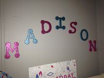 Letters for wall in Fort Rucker, Alabama