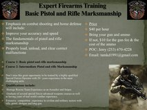 Expert Firearms Training with emphasis on combat shooting and home defense in Norfolk, Virginia