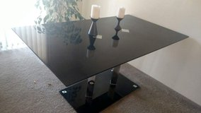 Black Glass Dining table in Fort Irwin, California