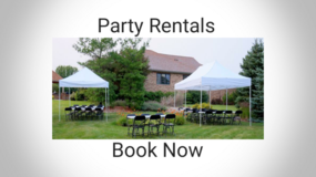 Table and Chair Rental in Tinley Park, Illinois