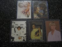 5 starwars cards in all in Fairfield, California