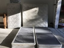 FREE mattresses with box springs in Minot AFB, North Dakota