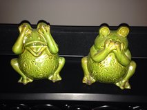 Set of frogs from TJMaxx in Fort Rucker, Alabama