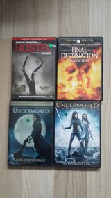 Horror and Action DVDS in Ramstein, Germany