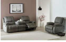 Dijon - NEW MODEL - Reclining Set Sofa + Chair -- includes delivery - Loveseat also available in Spangdahlem, Germany